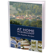 At Home In Burgundy: The Papillon Recipes is founder Eleanor Garvin's cookbook of French recipes.