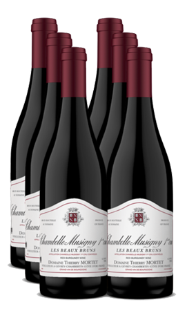 Domaine Thierry Mortet Chambolle Musigny 1er Cru 'Beaux Bruns' 6 Bottle Set