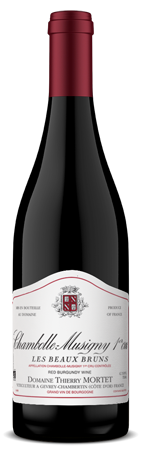 Domaine Thierry Mortet Chambolle-Musigny 1er Cru 'Les Beaux Bruns' 2012