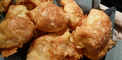 Burgundian Cheese Puffs